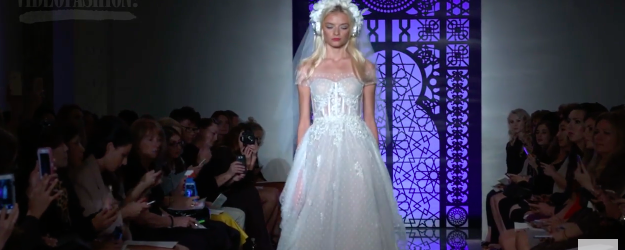 """Titling her bridal collection """"This Magic Moment,"""" Reem Acra focuses on crafting each bride her dream wedding dress! With a play on lingerie, her exquisite signatures of embroideries, luxurious lace […]"""