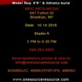 One Source Resource (OSR)is seeking Models, Designers, Stylists, Make-up Artists, and Vendors.
