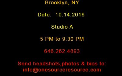 One Source Resource (OSR) is seeking Models, Designers, Stylists, Make-up Artists, and Vendors.