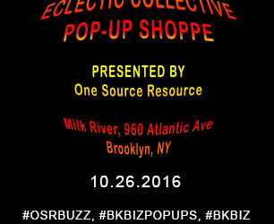 On October 26, 2016, One Source Resource will host a pop-up shop for entrepreneurs and businesses that are up and coming to have media exposure and an online presence. This […]