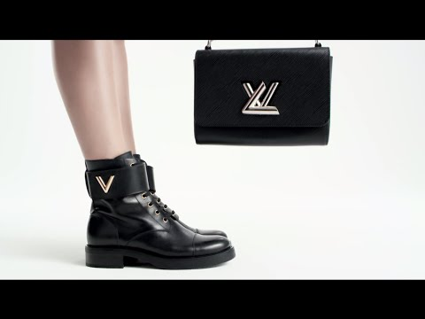 Do the Twist: introducing the Wonderland boot from Louis Vuitton.