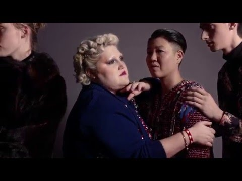 The Marc Jacobs Spring 2016 Collection is inspired by Americana. What about America inspires Beth Ditto Copyright(c) 2016 Marc Jacobs International, LLC.