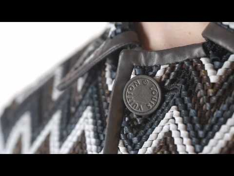 A preview of the savoir-faire from the Louis Vuitton Men's Spring-Summer 2017 Fashion Show by Men's Artistic Director Kim Jones: hand woven leather. Watch …