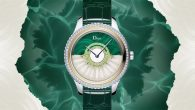 More on: http://www.dior.com/ The Dior Grand Bal collection witnesses the arrival of a new model pairing featherworking savoir-faire, an haute couture stalwart, with horological technique. Its automatic movement, exclusive to […]