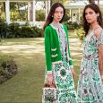 East coast meets West coast in Tory Burch's collection of chic designer dresses, swimsuits, and handbags. In the vibrant Garden Party theme, intricate florals …