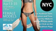 PETITE MODEL OPEN CALL AUDITION FOR NEW YORK CITY FASHION SHOW PLITZS Fashion Marketing Saturday, October 14, 2017 from 5:00 PM to 6:00 PM (EDT) New York, NY FREE AT […]
