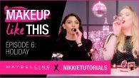 Can't get enough of Maybelline + NikkieTutorials? Click here https://goo.gl/k47t6e to subscribe! Welcome back to Maybelline + NikkieTutorials' Makeup Like This! In episode 6, @NikkieTutorials…