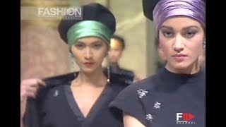 JEAN LOUIS SCHERRER Fall 1988/1989 Paris – Fashion Channel YOUTUBE CHANNEL: http://www.youtube.com/fashionchannel WEB TV: …