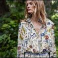Tory Burch Pre-Fall 2018 must-haves: rich florals, graphic prints and embellishment — seen on new dresses, tunics, flats and statement jewelry. Shop dresses: …